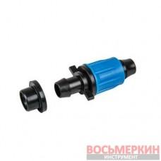 Стартовый коннектор для трубок, лент, PE 16 мм DSWAQJ-L16 Bradas