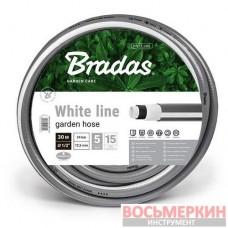 Шланг для полива, 5 слойный, White Line, 3/4 , 50м WWL3/450 Bradas