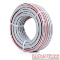 Шланг для полива 5-ти слойный 1/2 , 30м, армированный PVC GE-4133 Intertool
