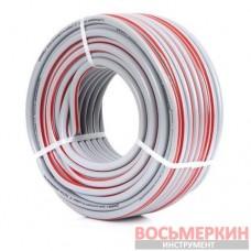 Шланг для полива 5-ти слойный 1/2 , 50м, армированный PVC GE-4135 Intertool
