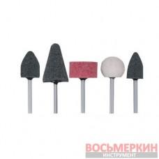 Набор шлифовальных камней 5 предметов BT-0015 Intertool