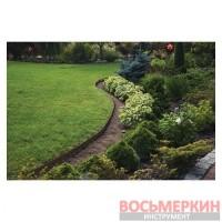 Бордюр газонный 10м набор с колышками OBEBR3810SET Bradas