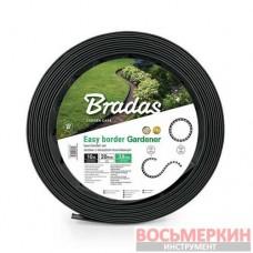 Бордюр газонный 10м набор с колышками OBEB3810SET Bradas