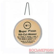 Ножи трапецевидные W1 для нарезки протектора 2мм упаковка 20шт S145/W1 Rillcut Германия
