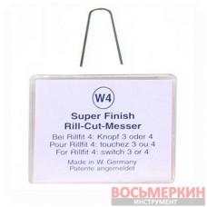 Ножи трапецевидные W4 для нарезки протектора 8мм упаковка 20шт S145/W4 Rillcut Германия