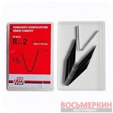 Ножи для нарезки протектора радиальные R2 5-6 мм упаковка 20шт Tip Top Германия