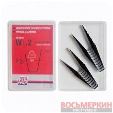 Ножи для нарезки протектора трапецевидные W2 5мм упаковка 20шт Tip Top Германия