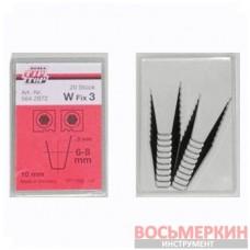 Ножи для нарезки протектора трапецевидные W3 7мм упаковка 20шт Tip Top Германия