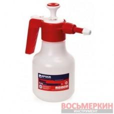 Помповый распылитель EPOCA 2 л NBR красный для щелочи Diakem