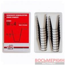 Ножи для нарезки протектора трапецевидные W4 8мм упаковка 20шт Tip Top Германия