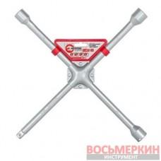 Ключ балонный крестовой 17мм х 19мм х 21мм х 1/2 HT-1603 Intertool 406 мм