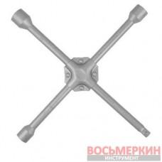 Ключ балонный крестовой 17мм x 19мм x 22мм x 1/2 HT-1602 Intertool усиленный 355мм