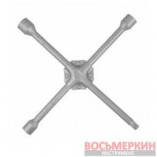 Ключ балонный крестовой 17мм х 19мм х 21мм х 1/2 HT-1604 Intertool усиленный 355мм
