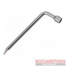 Ключ балонный 21 мм с лопаткой Г образный 350 мм XT-4221 Intertool