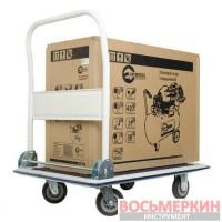 Тележка до 250 кг 910 мм х 610 мм х 870 мм колеса LT-9054 Intertool