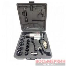 Набор пневмоинструмента 1/2 350N/m 7000об/мин 9-11,13,14,17,19,22,24,27 17 единиц RP7808 Aeropro
