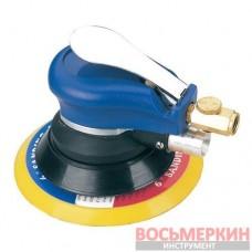 Шлифовальная машинка пневматическая орбитальная Vacuum type 150 мм запасной диск AT-980-6V Airkraft