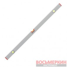 Уровень строительный 1000 мм 3 глазка сечение 21 мм х 46 мм MT-1224 Intertool