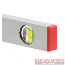 Уровень строительный 400 мм 3 глазка сечение 21 мм х 46 мм MT-1221 Intertool