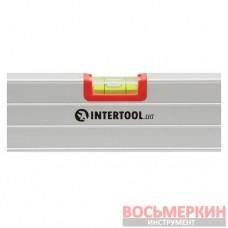 Уровень строительный 400 мм 3 глазка сечение 23 мм х 58 мм MT-1141 Intertool