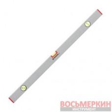 Уровень строительный 800 мм 3 глазка сечение 21 мм х 46 мм MT-1223 Intertool