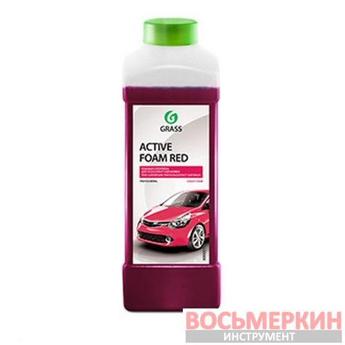 Активная пена «Active Foam Red» Новинка 1л 800001 Grass