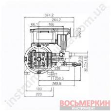 Электромотор 4-полюсный 1400 об/мин 15 л/мин 150 бар MTP RW 6.15 Comet