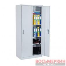 Бухгалтерский шкаф ШСБ-12-02-08х09х04-Ц-7035 Ferocon
