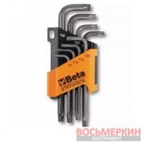 Набор Г-образных ключей Тorx 970263 97RTX/SC8 Beta