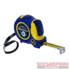 Рулетка профессиональная с автостопом полотна и магнитом 3м 16мм PMT-0316 Стандарт