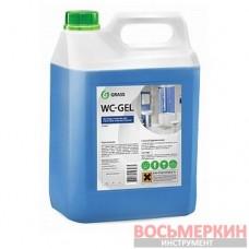 Средство для чистки сантехники WC- GEL 5 кг 219101 Grass