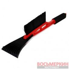Щетка со скребком 45 см AT-0112 Intertool