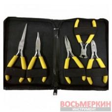 Набор губцевого инструмента мини для электрика 5 предметов T28740 Ampro