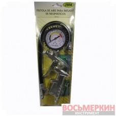 Пистолет для подкачки колес серый ECG-019А