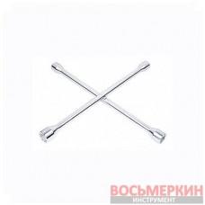 Ключ балонный крестовой 17мм х 19мм х 21мм х 23мм T41721 Ampro
