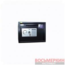 Мебельный сейф электронный 7,2 кг БС-25Д.9005 Ferocon