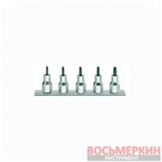 Набор головок-насадок RTX 1/2 5 шт 920 RTX/SB5 9200378 Beta