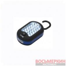 Фонарь светодиодный, на батарейках VITO DUO 24+LED 520044 Lena