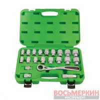 Набор головок 21 предмет 1/2 4121CRUS Unison