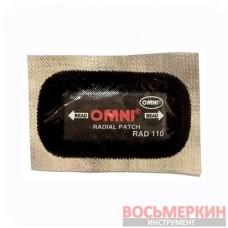 Пластырь радиальный на фольге Rad 110 45 х 75 мм 165+ Omni
