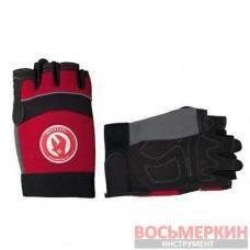 Перчатка без пальцев вставки спандекса и неопрена манжет на липучке 24,5 см SP-0142 Intertool