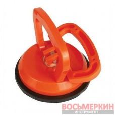 Держатель-присоска для стекол одинарная 120 мм, max 40 кг HT-7101 Intertool