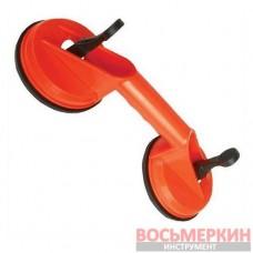 Держатель-присоска для стекол двойная 2*120мм, max 80кг HT-7102 Intertool