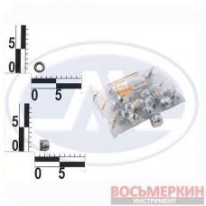Гайка колеса 12x18 шаг 1.25 хром конус откр. ключ 19 Walline Ф 304 52026 цена за упаковку 20шт