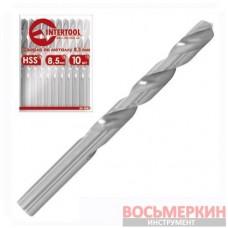 Сверло по металлу DIN338 4.3мм HSS SD-5043 Intertool