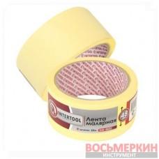 Лента малярная 48мм, 20м, желтая DM-4820 Intertool