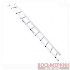 Лестница алюминиевая приставная 10 ступеней 2.84м LT-0110 Intertool