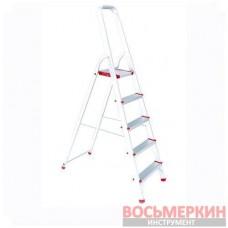 Стремянка алюмин. 5 ступеней, высота до платформы 1065мм LT-1005 Intertool