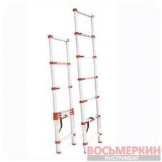 Лестница алюминиевая телескопическая 6ступ. 2.00м LT-3020 Intertool