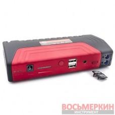Набор пуско зарядное устройство 16800 mАч и мини компрессор AT-3010 Intertool